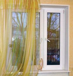 Как уменьшить пластиковое окно